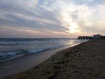 Hav strand Arkivfoton