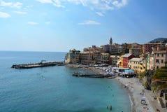 Hav strand, Italien Arkivfoton