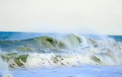 Hav vinkar under tropisk storm Fotografering för Bildbyråer