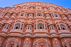 Hava mahal, Jaipur,   India. Stock Photo