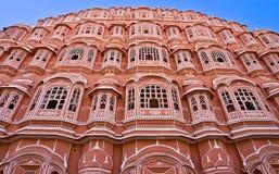 Hava mahal, Jaipur, la India. Imagen de archivo