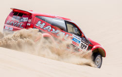 Haval team race Dakar 2013 Royalty Free Stock Image