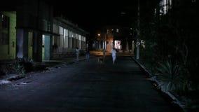 Havan en oscuridad almacen de metraje de vídeo