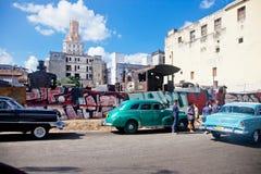 HAVANA 30 DE DEZEMBRO: Rua na parte velha cidade do 3 de dezembro Imagens de Stock