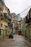 Havana backstreet Royalty-vrije Stock Afbeeldingen