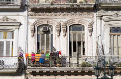 Havana Balcony, Cuba Stock Photography