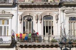 Havana-Balkon, Kuba stockfotografie
