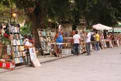 Havana book fair Royalty Free Stock Image
