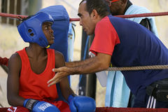 Havana boxing team Royalty Free Stock Images