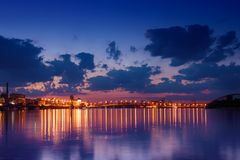 Havana bridge in Kiev Royalty Free Stock Photo