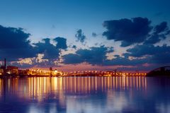 Havana bridge in Kiev Royalty Free Stock Image