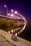 Havana bridge in Kiev. Royalty Free Stock Photo