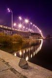 Havana bridge in Kiev. Royalty Free Stock Photo