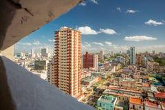 Havana buildings. Aerial view Stock Image