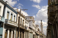 Havana buildings, Cuba Royalty Free Stock Image