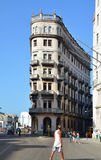 Havana the capital of Cuba - famous and known urban street - public square Stock Photo