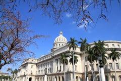 Havana Capitol Arkivfoto