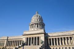 Havana capitol building Stock Photography