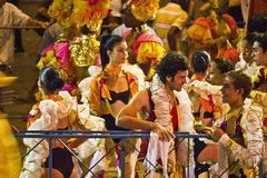 Havana Carnival: A Pause for Joy Stock Image