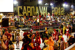 Havana Carnival: A Pause for Joy Royalty Free Stock Image