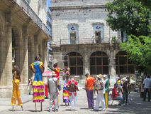Havana Carnival, street Artists Stock Images