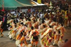 Havana Carnival: Uma pausa para a alegria Fotografia de Stock Royalty Free