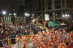 Havana Carnival: Uma pausa para a alegria imagem de stock