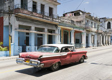 Havana Cars Royalty Free Stock Photos