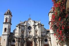 Havana Cathedral Images libres de droits