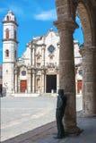 Havana Cathedral lizenzfreie stockfotografie
