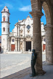 The Havana Cathedral Royalty Free Stock Photography