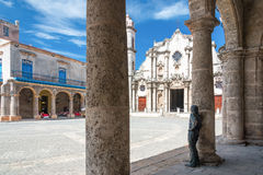 The Havana Cathedral Royalty Free Stock Images