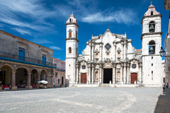 The Havana Cathedral Royalty Free Stock Photo
