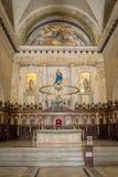 Havana Cathedral-binnenland Royalty-vrije Stock Foto
