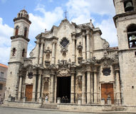 Havana Cathedral, Cuba Stock Photos