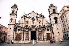 Havana cathedral, Cuba Stock Photography