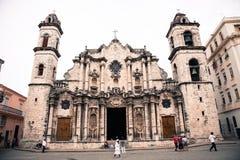 Havana cathedral, Cuba Stock Photography