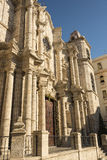 Havana Cathedral facade Royalty Free Stock Images
