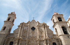 Havana Cathedral Stock Photos