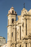 Havana Cathedral Stock Images