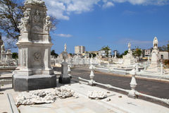 Havana cemetery royalty free stock image