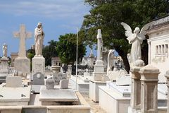 Havana cemetery Stock Photography