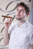 Havana cigar Stock Image
