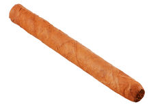 Havana Cigar - clipping path included Royalty Free Stock Photos