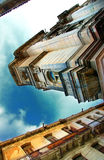 Havana City buildings under blue sky Stock Images