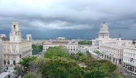 Havana City Cityscape Immagini Stock Libere da Diritti