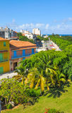 Havana city, Cuba. As seen from the castle Stock Images