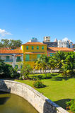 Havana city, Cuba. As seen from the castle Royalty Free Stock Images
