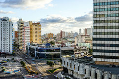 Havana City. Cuba. Havana, Cuba - January 5, 2016: view  over the Capital of Cuba Stock Image