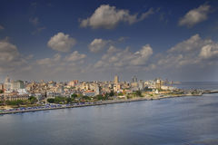 Havana city skyline Royalty Free Stock Photos